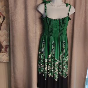 Ladie's S/PM polyester sundress - new wo and tags